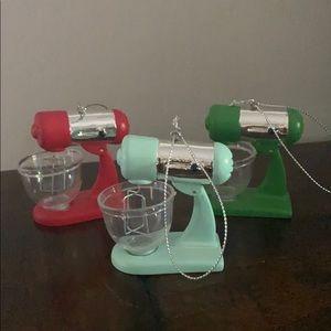 Mixer Baking Ornament Set